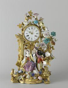 Mantel clock (pendule) | anoniem | Rijksmuseum | Public Domain