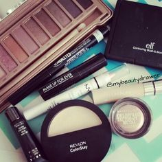 Makeup of the day.