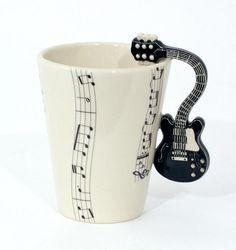 Musical Instrument Latte Mug