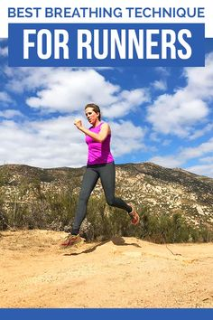 Best Breathing Technique for Runners - how to breathe while running #running
