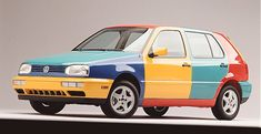 Volkswagen Golf Harlequin: VWs Strangest Idea? - The Truth About Cars