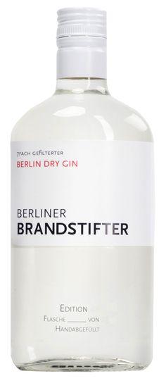 Berliner Brandstifter Gin 0,7 Liter   kern-spirituosen.de