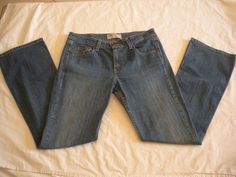 Levi Strauss Low Rise Boot Cut Blue Jeans Womens Sz 9 M #LeviStraussSignature #BootCut