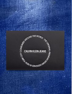 Garra, Leather Label, Calvin Klein Jeans, Patches, Card Holder, Tags, Colors, Rolodex, Mailing Labels