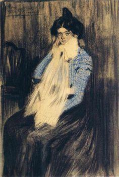 Lola - Pablo Picasso, 1899