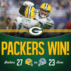 What an ending to the Green Bay Packers Detroit Lions game. Facemask resulting in one last play with 0.00 on the clock and hail mary from Aaron Rodgers to Richard Rodgers for the win. #gopackgo #GreenBayPackers #ThursdayNightFootball #NFL