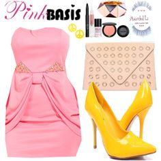 """""""PinkBasis Party Look"""""""