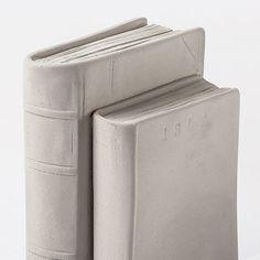 Concrete Books Bookends by Tome Adman | MONOQI