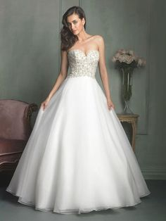 Glamorous beaded ball gown on sale!