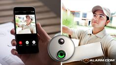 Interested in a wireless doorbell camera for your home or business? Keep your family and business safe with a video doorbell security camera from Frase. Doorbell Button, Ring Doorbell, Home Security Tips, Security Solutions, Home Automation System, Smart Home Automation, Security Technology, Security Camera, Doorbells