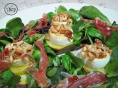 Pesto Tortellini, Real Food Recipes, Cooking Recipes, Yummy Food, Healthy Recipes, Appetizer Salads, Appetizers, Salad Bar, Slow Food
