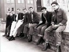 Docs&Chanel: From the Factory to Youth Culture: A Brief History of Doc Martens - March 03 2019 at Skinhead Boots, Skinhead Fashion, Skinhead Style, Skinhead Men, Skinhead Reggae, Uk Culture, Youth Culture, Mod Fashion, Punk Fashion