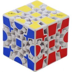 Rubik's cube with gears