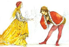 """illustration from """"cinderella"""" by svend otto s."""