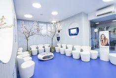Sala de espera de la clínica Ferrús & Bratos
