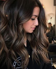 Are you going to balayage hair for the first time and know nothing about this technique? We've gathered everything you need to know about balayage, check! Hair Color And Cut, Brown Hair Colors, Darker Hair Color Ideas, Rich Hair Color, Ombre Hair, Bayalage Black Hair, Dark Brunette Balayage Hair, Brown Bayalage, Subtle Bayalage