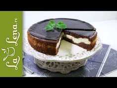 Pasca cu ciocolata si branza - cea mai buna pasca cu aluat de pandispan si ciocolata - YouTube Pastry And Bakery, Bread Baking, Brownies, Cheesecake, Deserts, Goodies, Pudding, Sweets, Make It Yourself