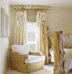 Sweet Rustic Curtains!