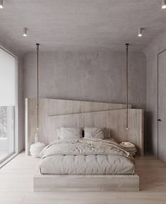 Bedroom 1 on Behance Luxury Bedroom Design, Master Bedroom Design, Home Bedroom, Bedroom Decor, Modern Luxury Bedroom, Nordic Bedroom, Modern Master Bedroom, Bedroom Signs, Bedroom Ideas