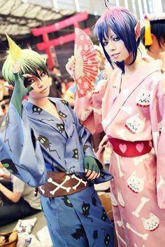 Ao no Exorcist - Amaimon and Mephisto