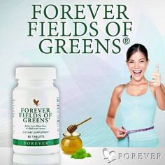 Get the antioxidants you may be lacking. Fields of Greens® combines young barley grass, wheat grass, alfalfa and added cayenne pepper (to help maintain healthy circulation and digestion). Forever Living Products, Forever Living Clean 9, Forever Living Aloe Vera, Forever Aloe, Wellness Fitness, Health And Wellness, Health And Beauty, Health Fitness, Aloe Drink