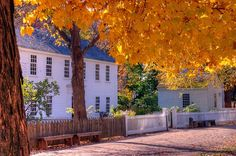 Old Sturbridge Village in Sturbridge, MA!