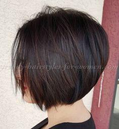 bob haircut - graduated bob haircut