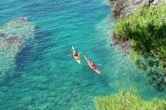 Kolocep coast kayaking