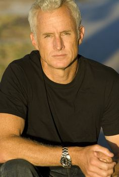 Handsome Older Men, Most Handsome Actors, Mary Doria Russell, John Slattery, Silver Foxes, First Tv, Big Love, Classic Man, Mad Men