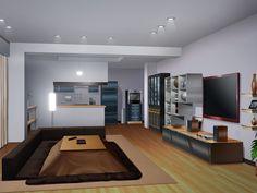 anime background scenery living episode backgrounds animelandscape interactive appartement ke landscape
