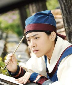Painter of the Wind (Hangul: 바람의 화원; hanja: 바람의畫員; RR: Baram-ui Hwawon) is a 2008 South Korean historical television series starring Moon Geun-young and Park Shin-yang. Based on the bestselling historical fiction novel by Lee Jung-myung that took artistic license with the premise that perhaps the Joseon painter Shin Yun-bok had really been a woman. She meets Kim Hong-do and they develop a strong friendship of mentor and disciple. 문근영