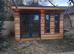 Such a beautiful addition to the garden... #serenitygardenrooms #gardenrooms #outdoorlivingspaces