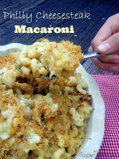 Philly Cheesesteak Macaroni
