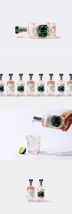 This Pink Gin Comes With A Funky Factor — The Dieline | Packaging & Branding Design & Innovation News