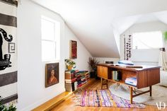"""""""I love writing. I'm trying to write more. This is a good space. I've never had my own office. It's kind of insane to me. I feel legit now,"""" says List 