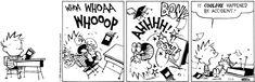 Calvin and Hobbes Comic Strip, November 04, 2014 on GoComics.com