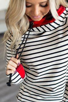 b57bb31d950b14 Baseball DoubleHood™ Sweatshirt - Perfect Storm – Mindy Mae s Market Casual  Winter Outfits