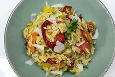 κριθαράκι με λαχανικά του Χόλιγουντ vs της Πόλης   Pandespani Grains, Rice, Food, Essen, Meals, Seeds, Yemek, Laughter, Jim Rice