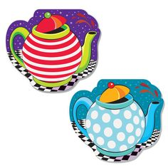 Mad Hatter Tea Party Notebook Party Favors | Alice in Wonderland Party Favors