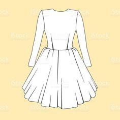 Dibujos de vestidos bonitos