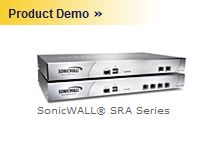 SonicWALL Secure Remote Access series offers SSL VPN access to mission-critical resources.