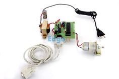 Automatic Surveillance Camera Panning System from PC - This project is designed for using surveillance camera on a panning platform i.e. moving the camera, mounted on a DC motor in clockwise and anticlockwise direction in periodic intervals.