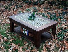 diy coffee table finish
