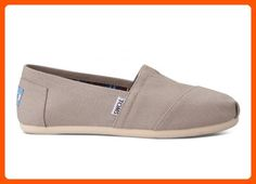 Toms Women's 10001379 Alpargata Flat, Light Grey, 5.5 M US - All about women (*Amazon Partner-Link)