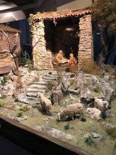 Christmas Village Sets, Christmas Nativity Scene, Christmas Crafts, Christmas Decorations, Crib Sets, Diorama, Diy And Crafts, Patio, Wood