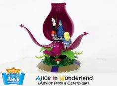 "Alice in Wonderland (Chapter Five – Advice from a Caterpillar) This LEGO set proposal is based on famous fairy tales ""Alice in Wonderland"". Lego Disney, Walt Disney, Lego Design, Star Citizen, Lego Fairy, Caterpillar Alice In Wonderland, Advice From A Caterpillar, Step On A Lego, Lego Animals"
