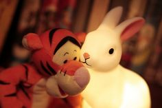 Tigger's New Friend by StephenMitchell, via Flickr