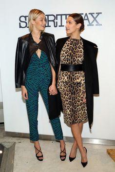 Gigi and Bella Hadid Pulled Off Animal Print Like Pros