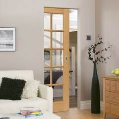 Absolute Frameless Pocket Doors Architrave Internal Clear Gl My
