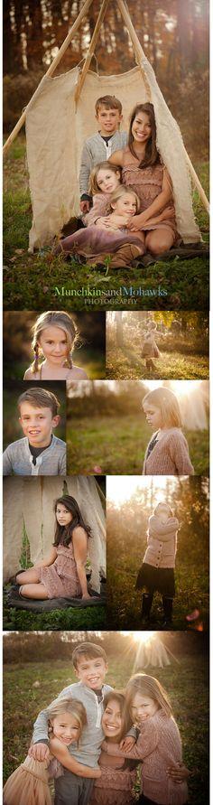 four little Indians  #photogpinspiration